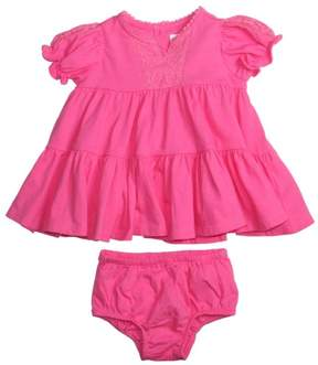Polo Ralph Lauren Infant Girls' (0M-24M) 2 Piece Dress Set-Pink