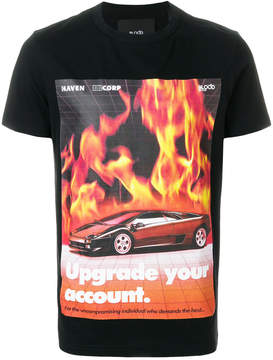Blood Brother Flames T-shirt