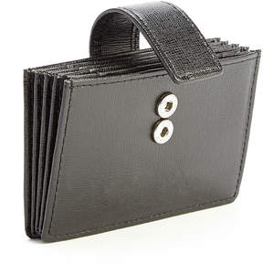 Royce Leather Royce Saffiano Leather Credit Card Organizer Wallet