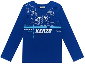 Kenzo Two Tigers Logo T-Shirt