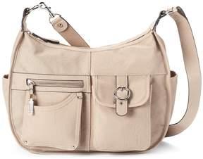Rosetti Riveting Seams Convertible Hobo Bag