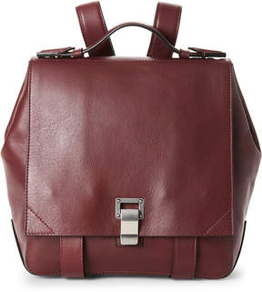 Proenza Schouler Bordeaux Courier Leather Backpack