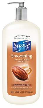 Suave Smoothing with Cocoa Butter and Shea Body Lotion 32 oz
