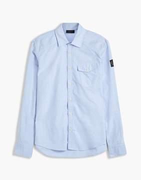 Belstaff Steadway Oxford Shirt Blue