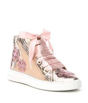 MICHAEL Michael Kors Girls' Ivy Florine-T High Top Sneakers