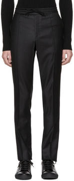 Brioni Black Drawstring Trousers