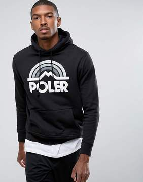 Poler Hoodie With Large Rainbow Logo