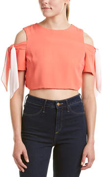 Do & Be DO+BE Do+Be Cold-Shoulder Crop Top