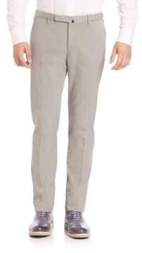 Incotex Slim Batavia Flat Front Pants
