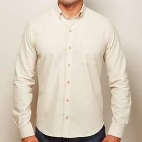 Blade + Blue Solid Khaki Chambray Shirt - Kent