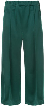 EN ROUTE cropped layer trousers