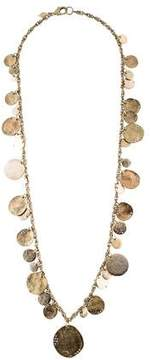 Sequin Disc Chain Necklace
