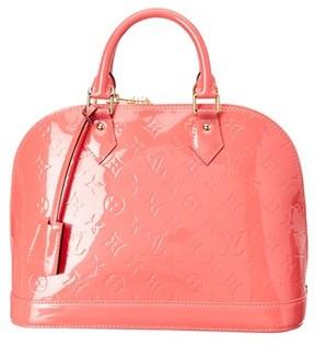 Louis Vuitton Pink Monogram Vernis Leather Alma Pm. - NO COLOR - STYLE