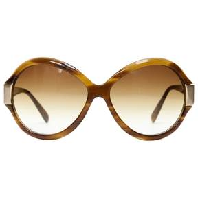 Oliver Peoples Brown Plastic Sunglasses
