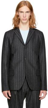 Acne Studios Grey Striped Lund Blazer