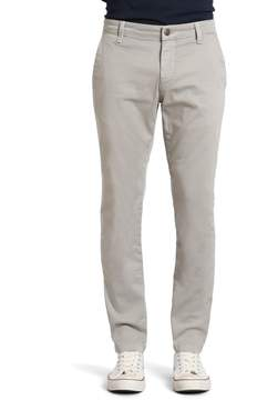 Mavi Jeans Johnny Slim Leg Chino In Grey Twill