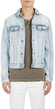 Ksubi Men's Distressed Denim Jacket