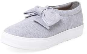 F-Troupe Women's Jersey Bow Slip-On Sneaker