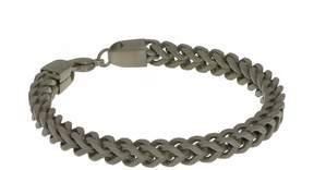 Lynx Men's Stainless Steel Foxtail Chain Bracelet