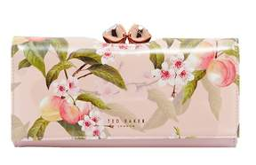 Ted Baker Peach Blossom Bobble Matinee Wallet
