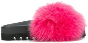 Joshua Sanders fur slides