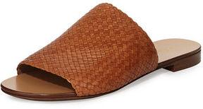 Michael Kors Byrne Woven Flat Slide Sandal