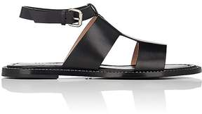 Barneys New York Women's Chain-Embellished Leather Sandals