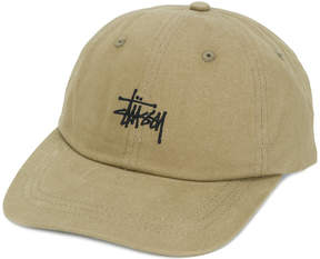 Stussy logo embroidered cap
