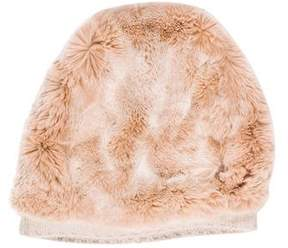 Barneys New York Barney's New York Fur Knit Beanie