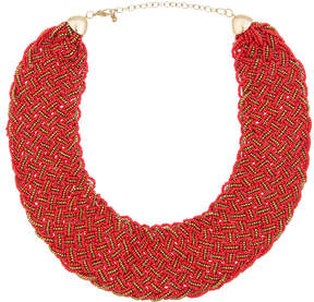 ELOQUII Beaded Statement Necklace