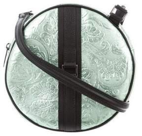 Reece Hudson Metallic Brocade Crossbody Bag