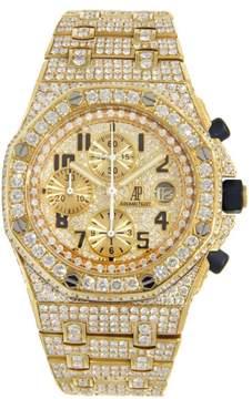 Audemars Piguet Royal Oak Offshore Yellow Gold covered in Diamonds 42mm