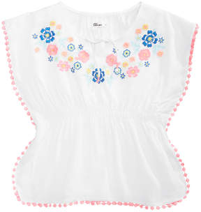 Epic Threads Toddler Girls Embroidered Caftan Top, Created for Macy's