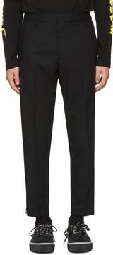 McQ Black Doherty Trousers