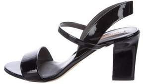 Reed Krakoff Patent Leather Slingback Sandals