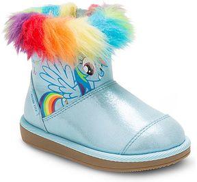 Stride Rite My Little Pony Rainbow Dash Cozy Boot