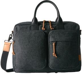 Fossil Defender Top Zip Workbag Handbags