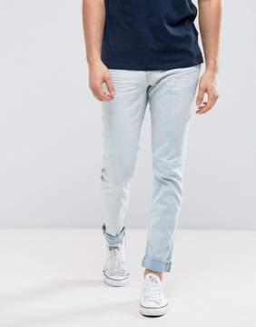 Blend of America Skinny Jeans Denim White Wash