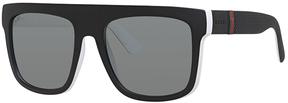 Safilo USA Gucci 1116 Rectangle Sunglasses