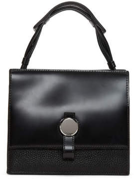 Kara Black Baby Moon Crossbody Bag
