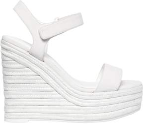 KENDALL + KYLIE 120mm Grand Faux Leather Wedges