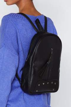 Nasty Gal WANT Hang On Tassel Backpack