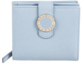 Bvlgari Leather Compact Wallet