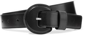Michael Kors Collection - Leather Belt - Black