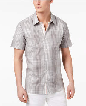 Ryan Seacrest Distinction Ryan Seacrest Men's Slim-Fit Plaid Shirt