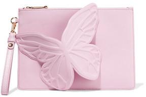 Sophia Webster - Flossy Embellished Leather Clutch - Baby pink