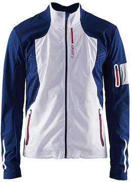 Craft White & Thunder Stratum Jacket - Men