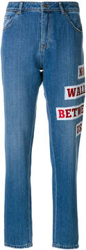 Each X Other embroidered baggy jeans