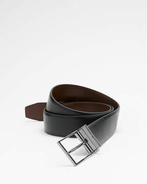 Express Reversible Logo Prong Buckle Belt