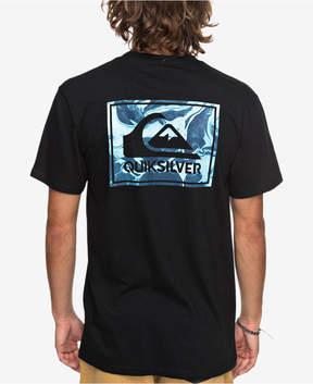 Quiksilver Men's Marble Logo Graphic T-Shirt